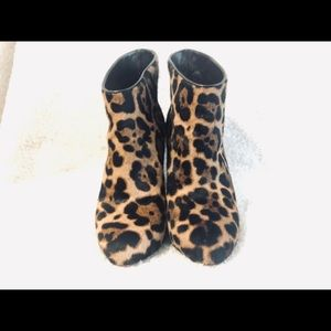 Christian Louboutin Shoes - Authentic Christian Louboutin Leopard Booties 37